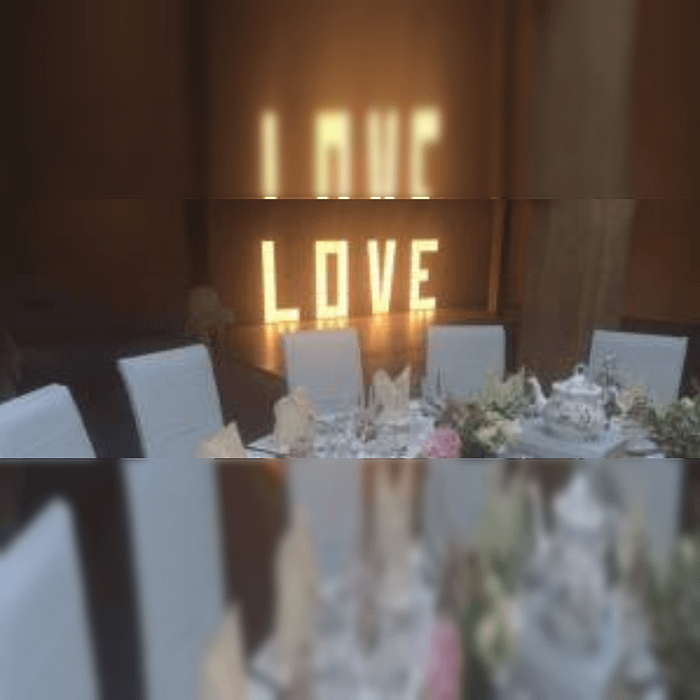 Glowing Letters Hire Manchester